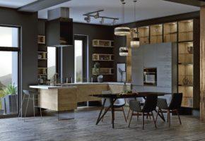 Кухня современный стиль Коллекция «НОРД» — 28 300 руб.