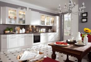 Белая кухня Коллекция «ТРЕНТ» — 17600 руб/м.п.