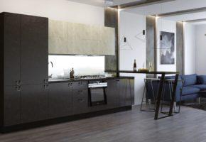 Кухня современный стиль Коллекция «БЕРГЕН» — 22 400 руб.