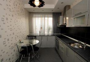 Черная кухня Коллекция «АРТ» — 25600 руб/м.п.