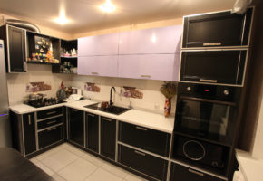 Черная кухня Коллекция «МАДЕЙРА» — 28300 руб/м.п.
