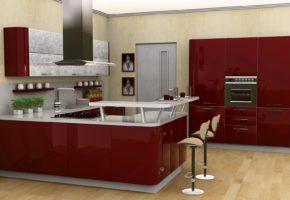 Современная кухня Коллекция «ОРИОН» — 27300 руб/м.п.