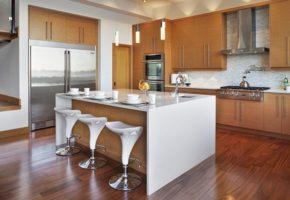 Кухня с островом 19