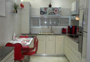 Кухня светлая Коллекция «АКРИЛ» — 21500 руб/м.п.