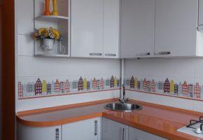 Кухня светлая Коллекция «ПОСТ» — 19700 руб/м.п.