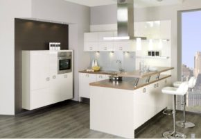 Белая кухня Коллекция «АКРИЛ» — 21500 руб/м.п.