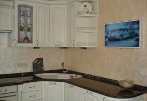 Кухня светлая Коллекция «МАДЕЙРА» — 28300 руб/м.п.